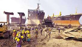 ship-breaking yard in Chittagong