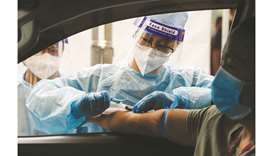 A healthcare worker