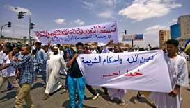 Dozens protest against Sudan reforms