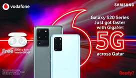 Enjoy power of Vodafone GigaNet 5G network on Samsung Galaxy devices