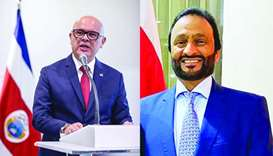 Qatar donates medical devices to Costa Rica