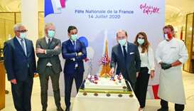 Galeries Lafayette Doha celebrates French National Day in presence of envoy
