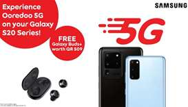 Ooredoo: 5G network enabled on Samsung Galaxy S20 series