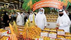 MME inaugurates Local Dates Festival 2020 at Al Meera