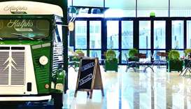 Ralph's Coffee truck makes its debut in Doha