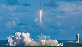 South Korea's Defense Acquisition Program Administration shows a Falcon 9 rocket carrying the ANASIS