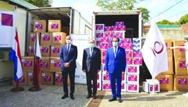 Embassy hands over QC aid to Paraguay