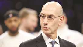 NBA commissioner Adam Silver. (TNS)