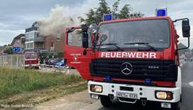 Small plane crashes into house in Germany, killing three people