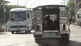Partial operations for jeepneys in Metro Manila irk grounded drivers