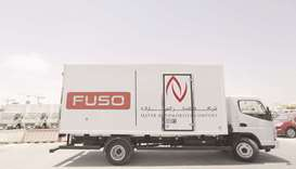 The Mitsubishi Fuso Canter