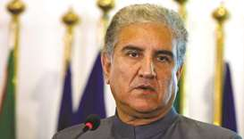 Qureshi: announced on Friday that he had tested positive for the coronavirus.
