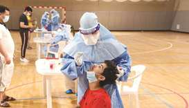 Team Qatar athletes and support staff underwent medical examinations in co-operation between Qatar O