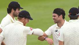 England players during a practice match in Southampton last week. PICTURE: ECB