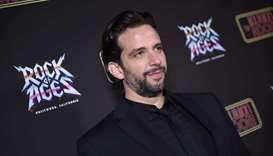 In this file photo Nick Cordero attends Opening Night Of Rock Of Ages Hollywood At The Bourbon Room