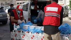 QRCS has provided humanitarian assistance both locally and internationally, through its staff as wel