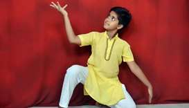 Kids learn classical dance online to stave off isolation