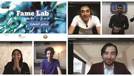 Winners of fifth edition of FameLab national contest in Qatar announced