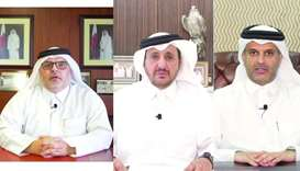 The president of Public Works Authority (Ashghal), Dr Engineer Saad bin Ahmed al-Mohannadi, Qatar Ch
