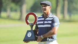 DeChambeau muscles his way to 2-shot victory