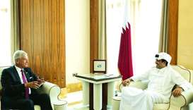 Amir receives president-elect of UNGA