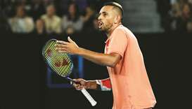 Nick Kyrgios, ranked 40th in the world, is out amid travel concerns from Australia, where the corona