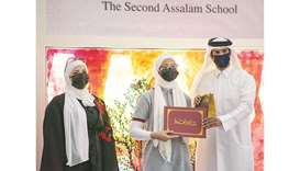 Second Assalam School and its partners honours students for outstanding academic performance
