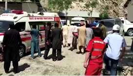 13 killed, including 9 Chinese nationals, in Pakistan bus blast