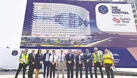 Top officials visit site of new Doha hospital