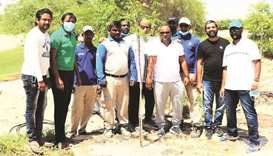 With the slogan 'plant a tree so that next generation can get air for free' TWA completed its first