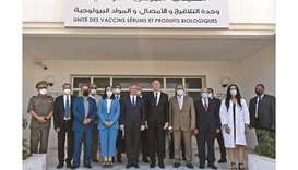Tunisia's President Kais Saied and France's Secretary of State for Tourism, French living abroad, an