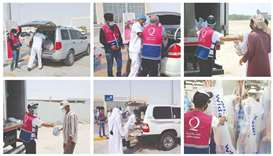Udhiyah, distributed in the third and fourth days of Eid al-Adha, came as part of QC's Eid drive, du