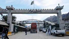 (File photo) A general view of the border post in Torkham, Pakistan. (REUTERS) Pakistan Afghanistan
