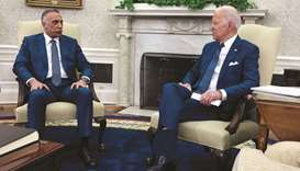 Biden, Kadhimi seal pact to end US combat mission in Iraq