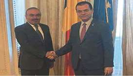 The meeting dealt with reviewing bilateral co-operation. The Romanian president of the Chamber of De