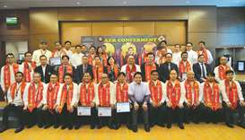 The chapter conferred 41 Filipino electrical practitioners as Asean engineers, associate Asean engin