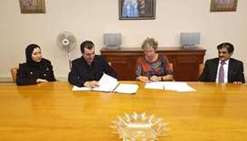 The State of Qatar signed an official partnership contract for the Dutch horticultural exposition Fl