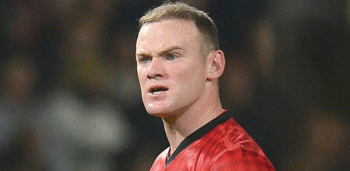 Wayne Rooney has not hit the net in a Premier League game for United since April.