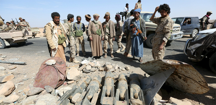Yemen fighters