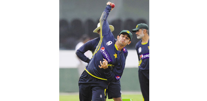 Ajmal reported for suspect action
