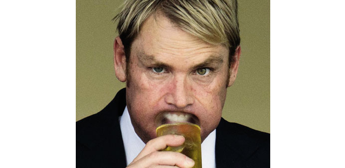 Warne ribbed on Twitter for 'thirsty' World Cup questions