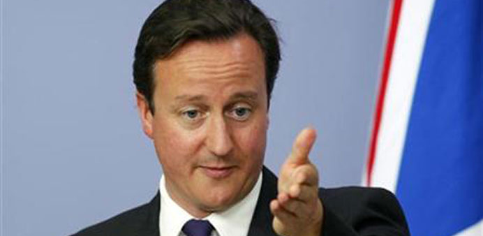 PM blames Calais crisis on 'swarm' of migrants