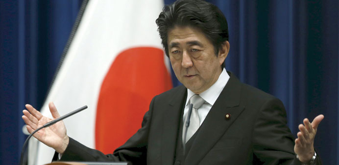 Prime Minister Shinzo Abe: with his bold approach, Abe has emerged as a model for Asia's other leade