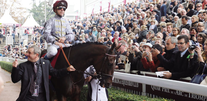 Treve's legacy secure despite defeat by Golden Horn at Arc