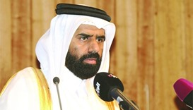 HE Minister of Development Planning and Statistics Dr Saleh Mohamed Salem al-Nabit