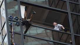Trump Tower climber captured after three-hour ascent