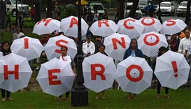 Marcos protest