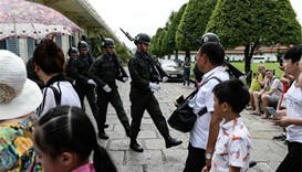 Thai police say wave of attacks connected, one arrested