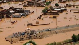Sudan floods kill 100, destroy villages