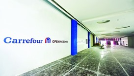 Carrefour store in Mall of Qatar nearing completion